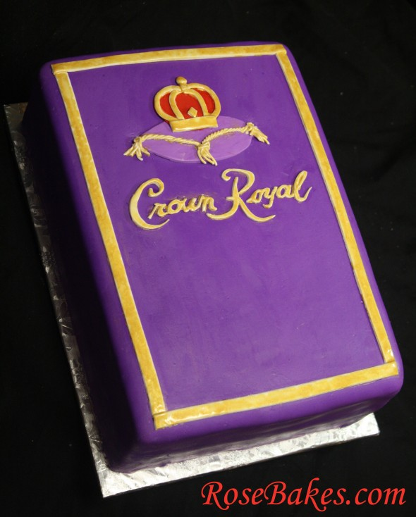 Crown Royal Birthday Cake Images