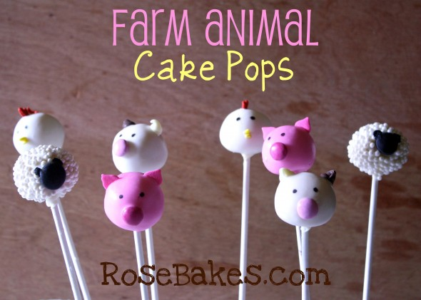 Farm Animal Cake Pops Fonts