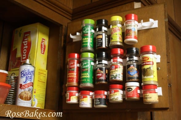 WFMW: The Best Way to Organize Spices... EVER! - Rose Bakes