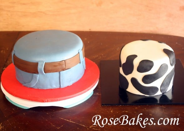 Cowboy Western Cakes And Smash Cakes How To Stack Cake