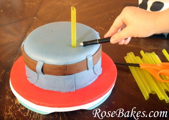Bubble Tea Straws For Cake Stacking