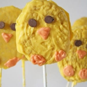 Easter Chick Rice Krispies Treats
