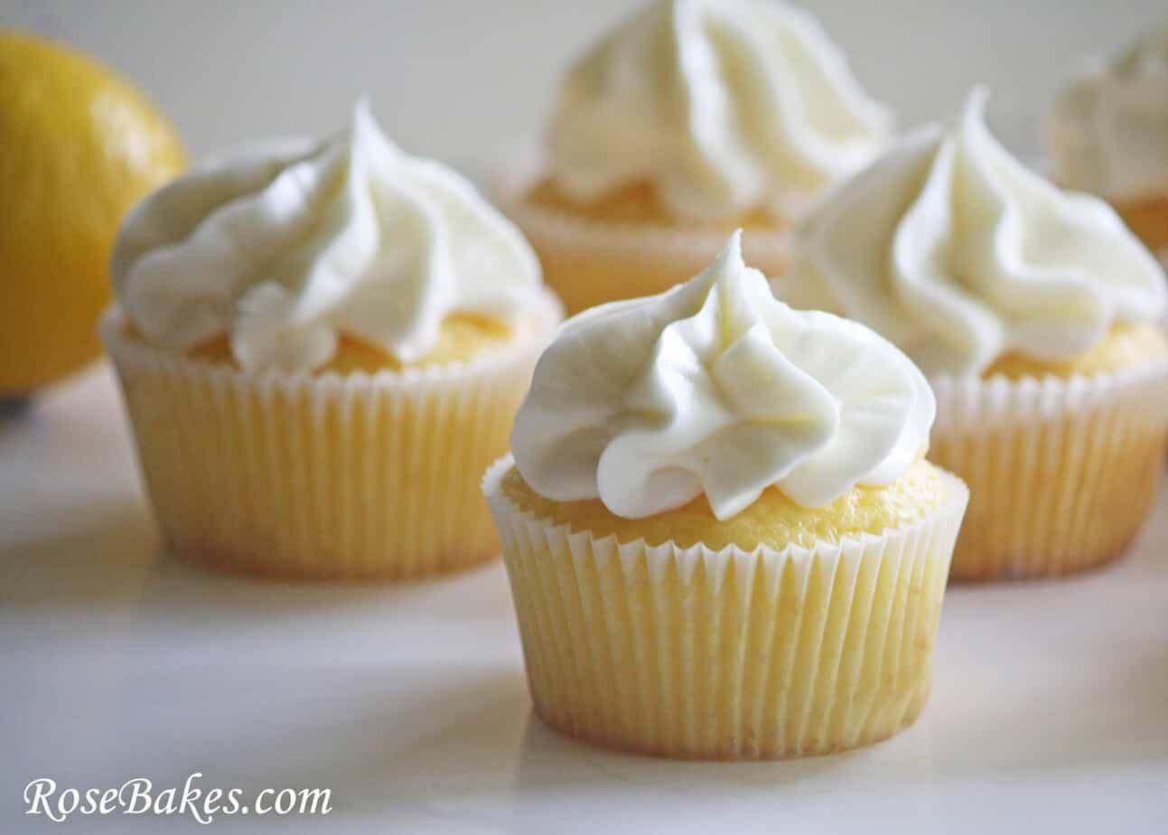 Lemon Kissed Cupcakes 1