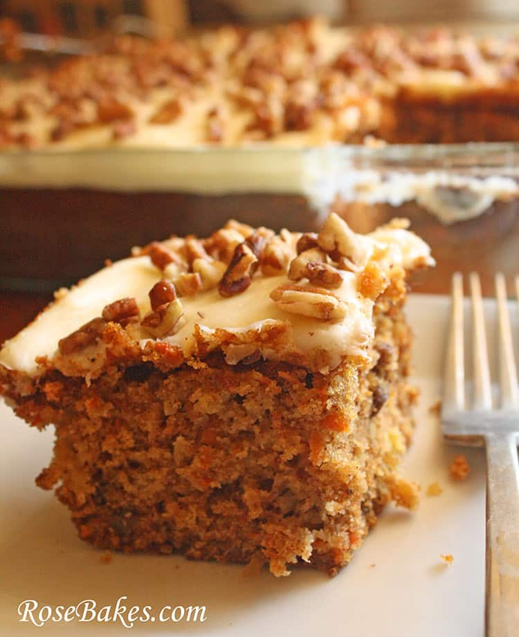 Loaded Carrot Cake Side