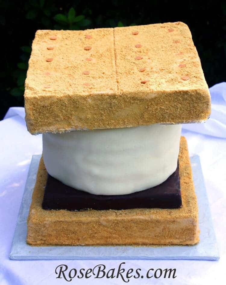 How To Make A Giant Smores Cake