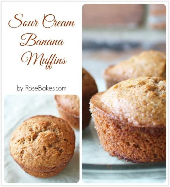 Sour Cream Banana Muffins Recipe