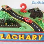 Transportation Cake for Zachary