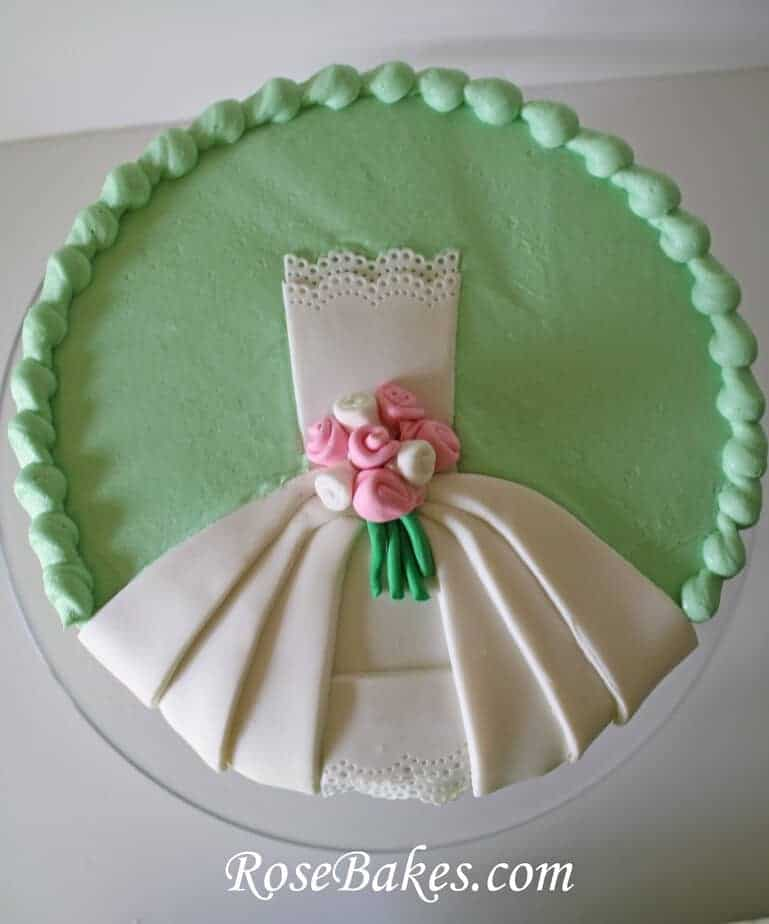 Bridal shower cake - Wedding bridal shower ...