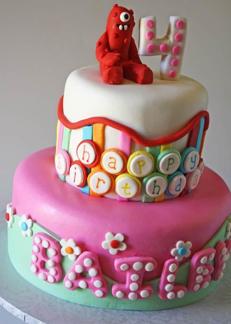 Incredible Yo Gabba Gabba Birthday Cake 2 Rose Bakes Funny Birthday Cards Online Elaedamsfinfo