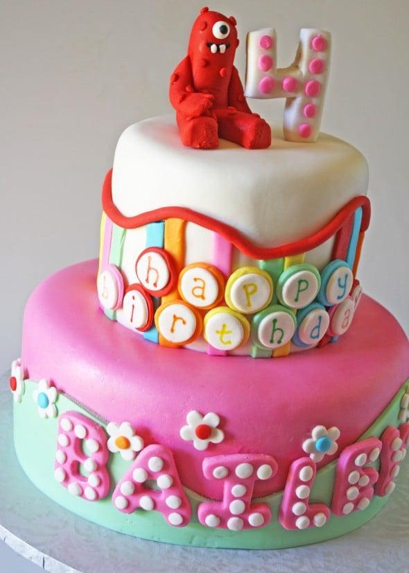 Yo Gabba Gabba Birthday Cake Amp Cake Pops
