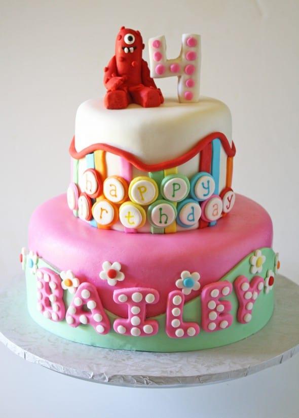 Awe Inspiring Yo Gabba Gabba Birthday Cake Cake Pops Funny Birthday Cards Online Inifofree Goldxyz