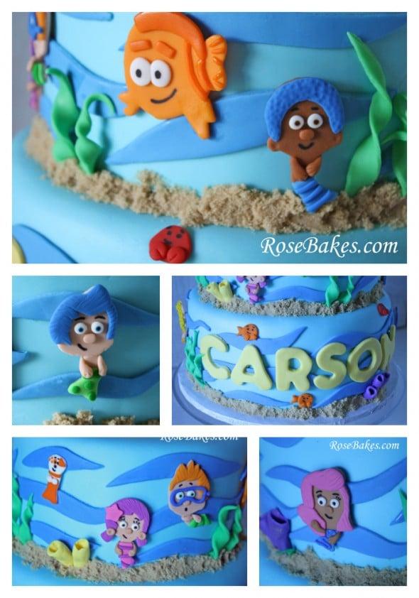 Bubble Guppies Birthday Smash Cake
