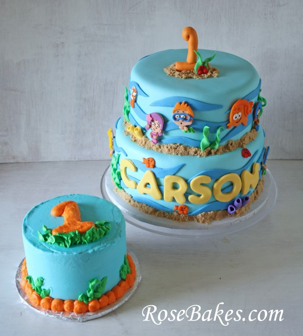 Homemade Bubble Guppies Cake