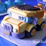 Dump Truck Construction Smash Cake 2