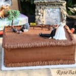Hunting Grooms Cake