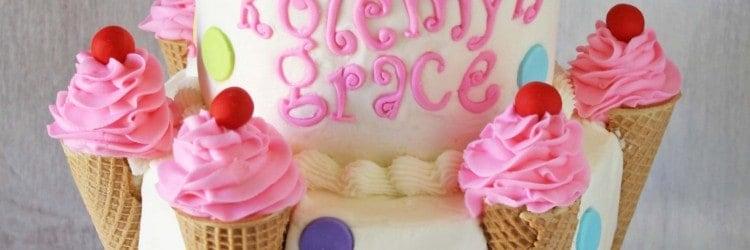 Ice Cream Cones Cake