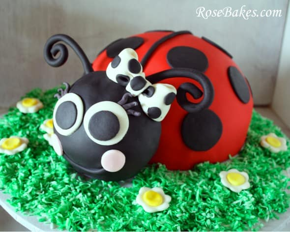 OUR LATEST VIDEOS First Up A Ladybug Cake