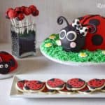 Ladybug Cake Smash Cookies Cake Pops Party