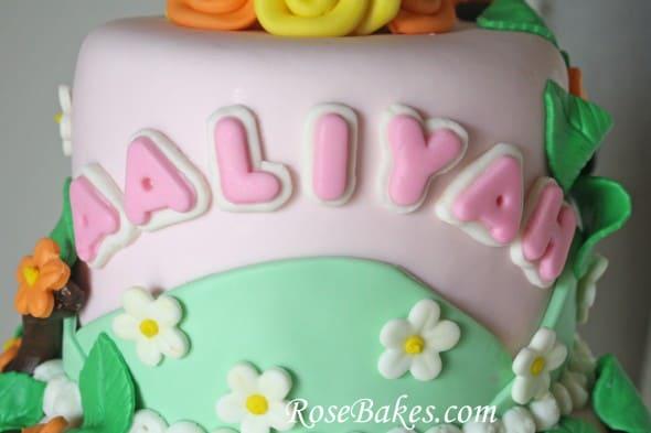 Dora the Explorer Birthday Cake Rose Bakes