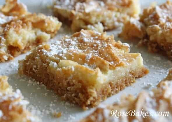 Gooey Butter Bars