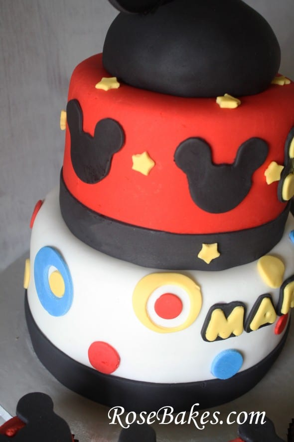 Mickey And Minnie Mouse Birthday Cakes Amp Cupcakes For Boy
