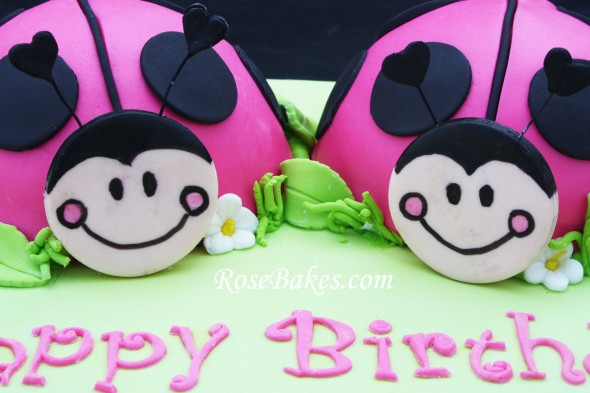 Birthday Cakes For Twins Sisters