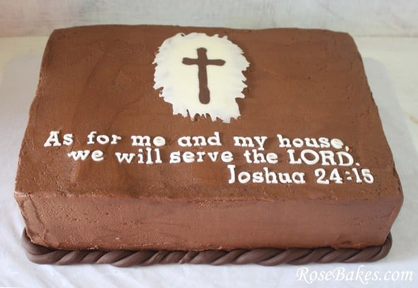 Scripture For Baby Shower Cake