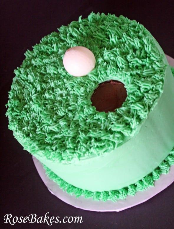 Simple golf cake recipe