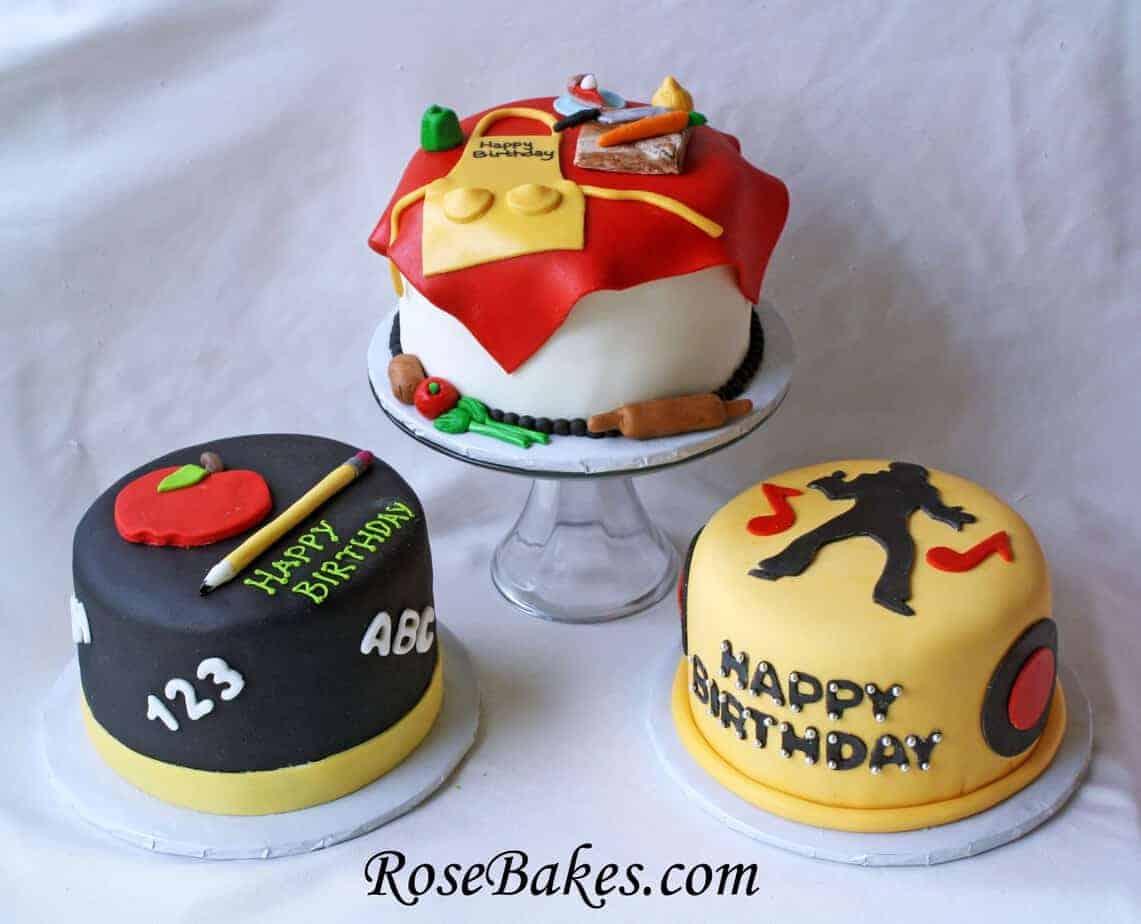 Birthday Cake Design For Chef : Elvis Cake, A Chef s Cake and a Teacher s Birthday Cake