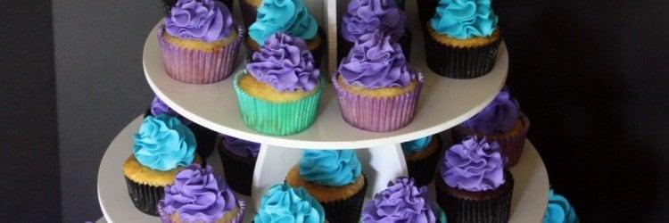 40th Birthday Cake Cupcake Tower