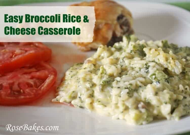 Broccoli Rice & Cheese Casserole 2