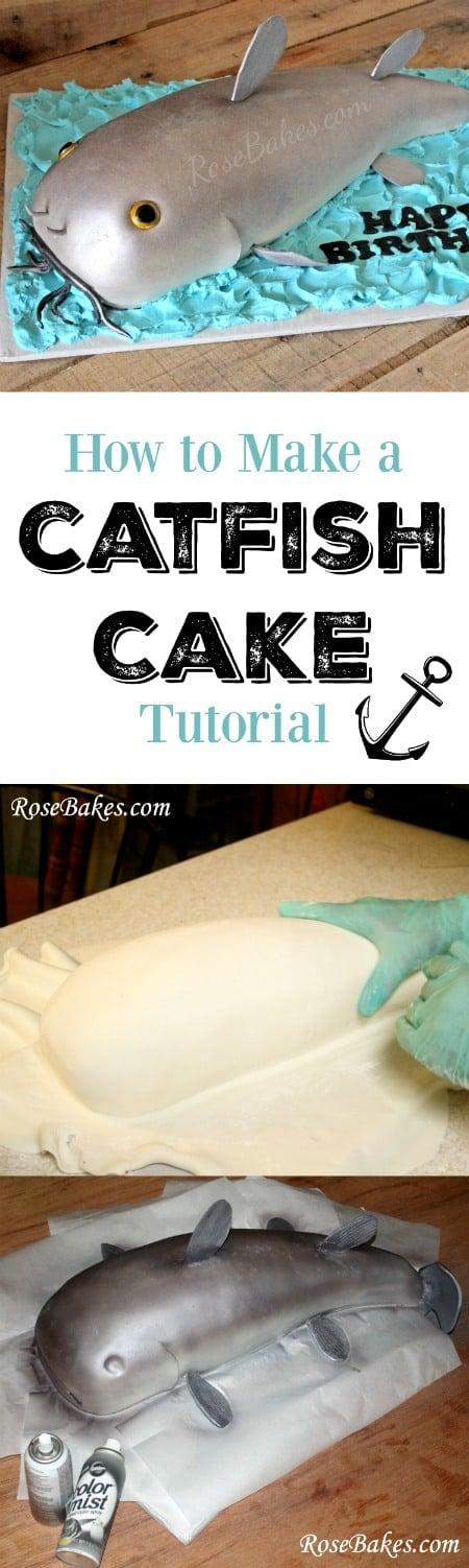 How to Make a Catfish Cake Tutorial