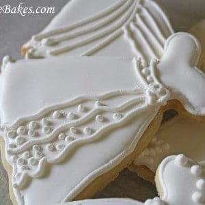 Wedding Dress Cookie 5