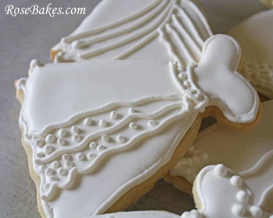 Wedding Dress Cookie 5