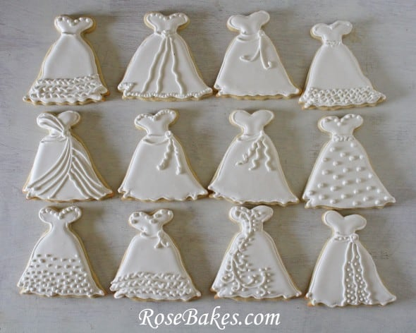 Wedding Dress Cookie Cutter - House Cookies