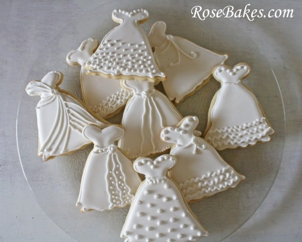 Bridal shower cookie recipes
