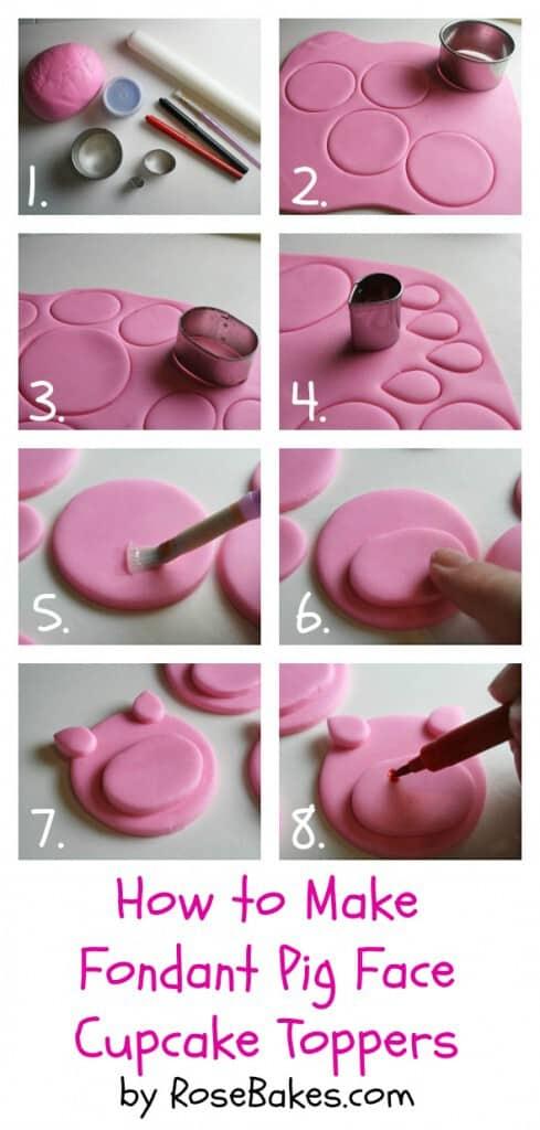 Fondant Face Cupcakes Images
