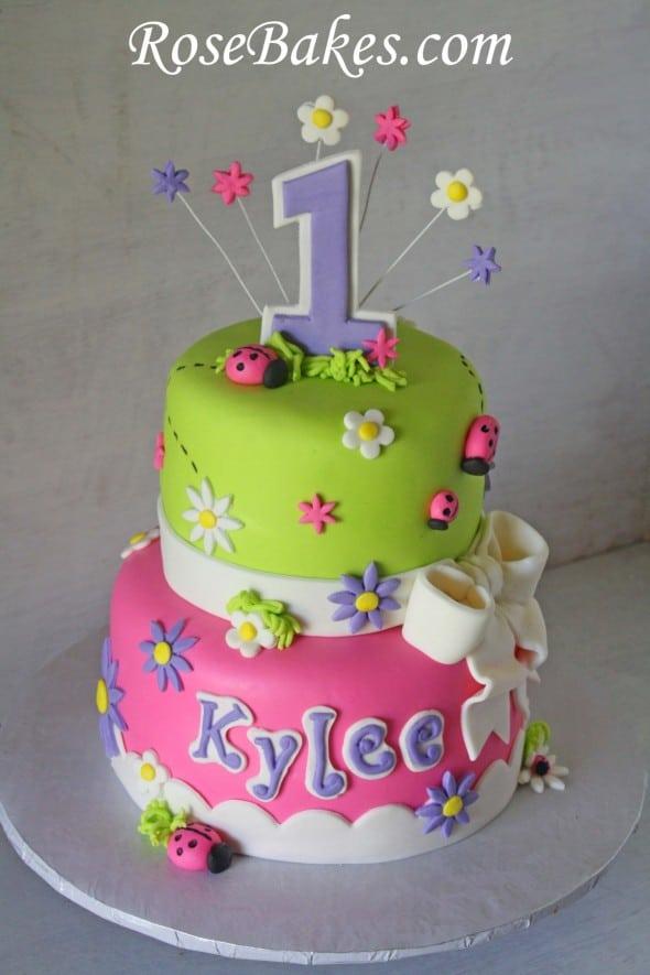 Cool Oh So Sweet Ladybug Birthday Cake Funny Birthday Cards Online Elaedamsfinfo