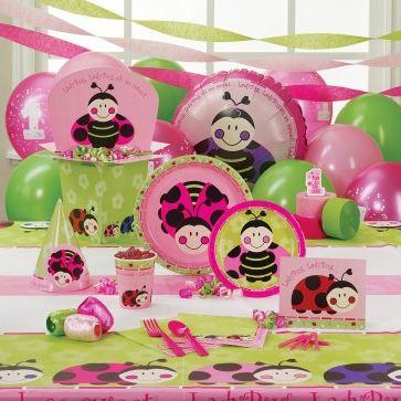 Oh So Sweet Ladybug Birthday Cake