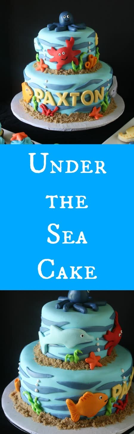 Under the Sea Cake RoseBakes