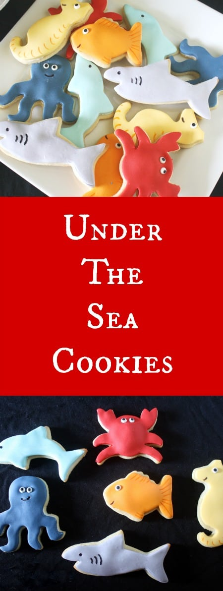 Under the Sea Cookies Rose Bakes