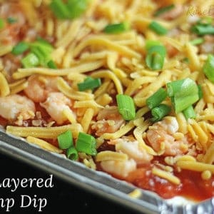 Easy Layered Shrimp Dip Recipe