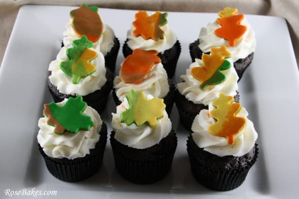 Thanksgiving Cupcakes and a Cupcake Thief