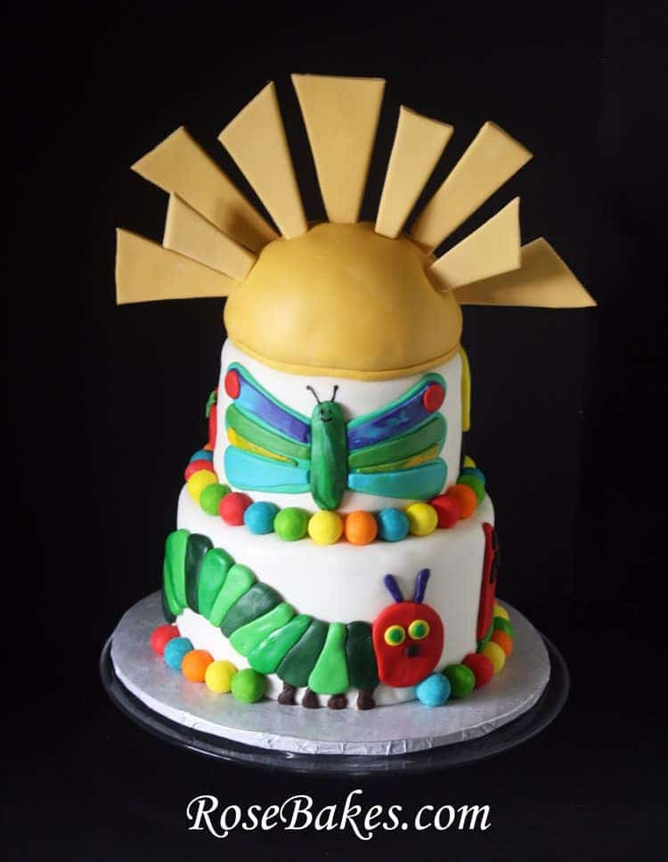 hungry caterpillar cake the hungry caterpillar birthday cake 5037