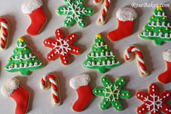 Merry Christmas! {Cake Pops, Cupcakes & Cookies}