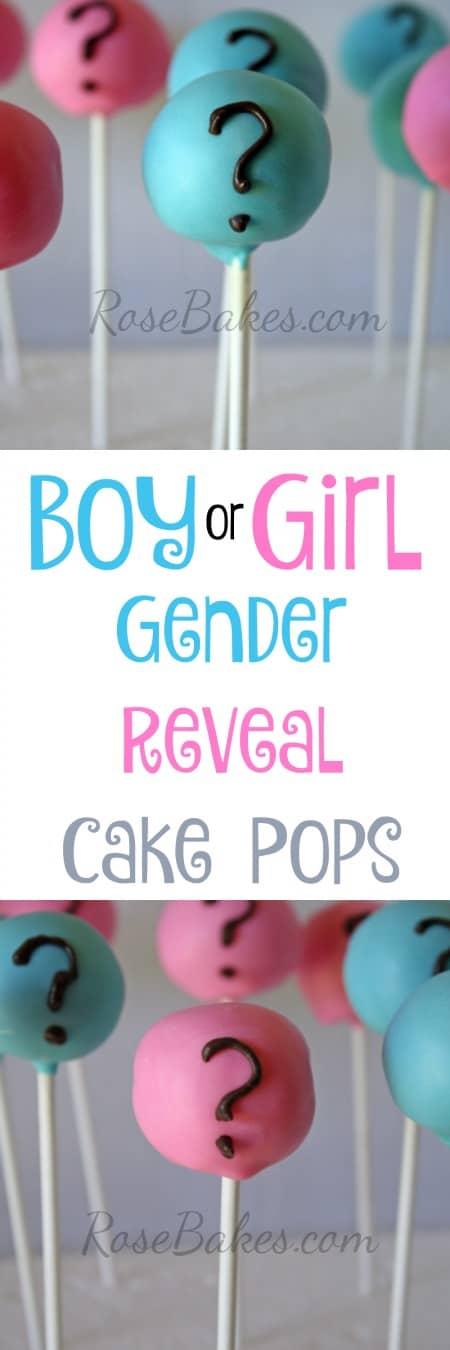 Gender Reveal Cake Pops RoseBakes 2