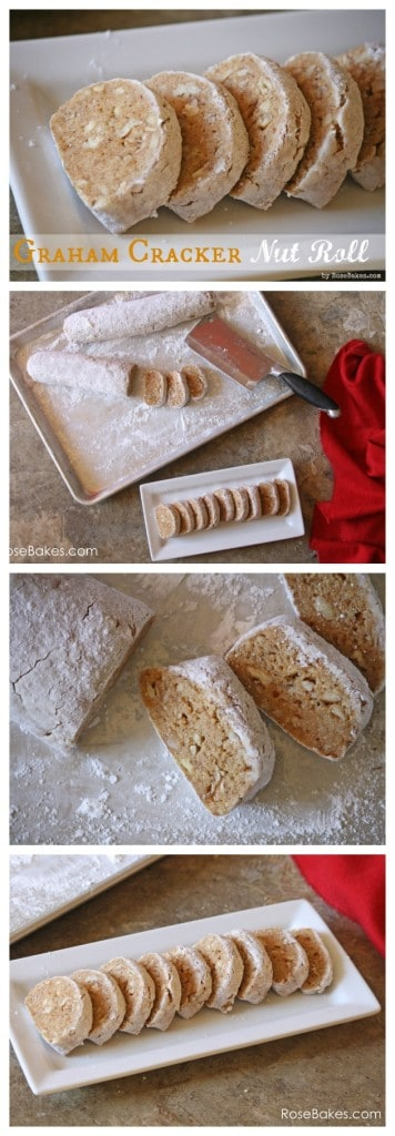 Graham Cracker Nut Roll Recipe Pinterest