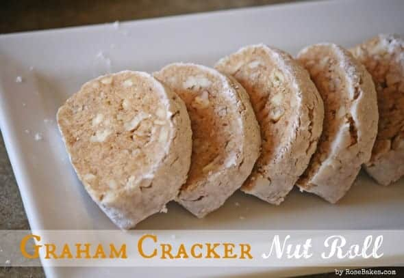 Graham Cracker Nut Roll with Logo
