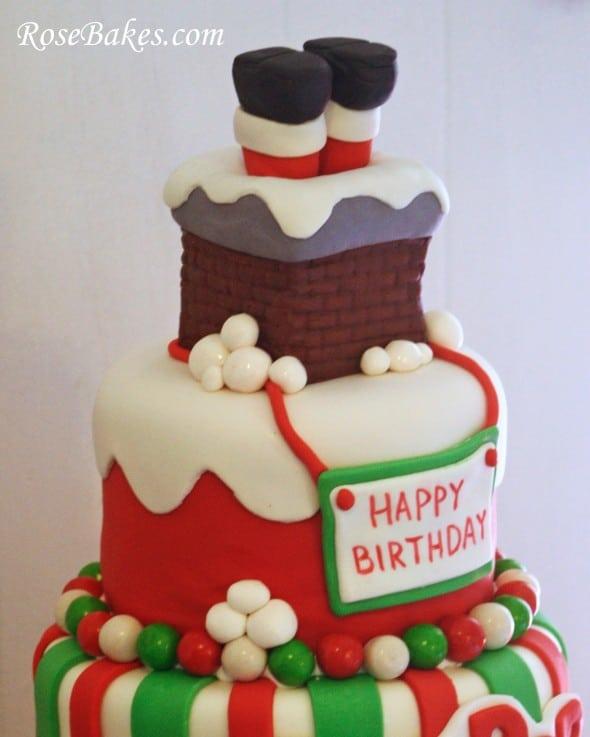 Birthday Cake Overlay