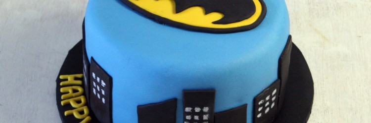 Batman Birthday Cake 2